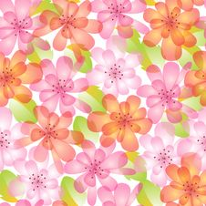 Free Summer Pattern Royalty Free Stock Images - 25163309