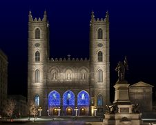 Free Notre-Dame Church Royalty Free Stock Photo - 25163465