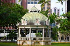 Free Iolani Coronation Pavilion, Honolulu, Hawaii Royalty Free Stock Images - 25165119