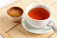 Free Fragrant Hot Tea With Honey Royalty Free Stock Photography - 25165287