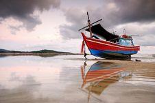 Free Thai Fishing Boat Royalty Free Stock Photos - 25165988