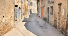 Free Alleyway In Mountain Village Royalty Free Stock Photo - 25166315