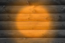 Free Wood Background With Spotlight Royalty Free Stock Photos - 25169318