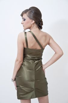 Free Beautifulgirl In Prom Dress Stock Photos - 25171163