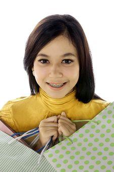 Free Shopping Woman Stock Image - 25174451
