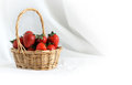 Free Strawberry In Basket Royalty Free Stock Images - 25181589