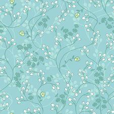 Free Vivid Repeating Floral Royalty Free Stock Photos - 25181088