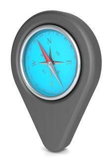 Free Pointer Icon. Royalty Free Stock Photo - 25185065