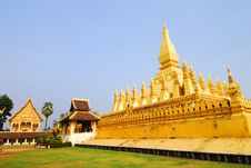 Free Golden Pagada Royalty Free Stock Photography - 25187777