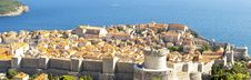 Free Panorama Of Dubrovnik Old Town. Stock Photo - 25189050