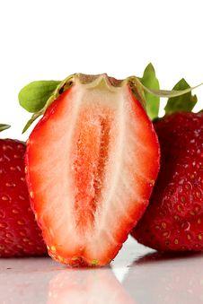 Free Strawberry. Royalty Free Stock Photos - 25189638