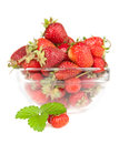 Free Berry Of Strawberry With A Sheet Royalty Free Stock Photo - 25199865
