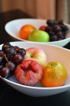 Variety Of Fresh Fruits Royalty Free Stock Images