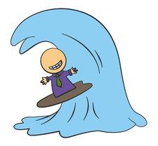 Free Biz Surfing Royalty Free Stock Images - 25193129
