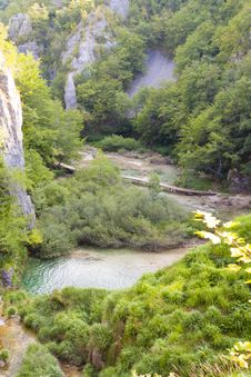 Free Plitvice Lakes - Croatia, Balkans. Stock Image - 25194541