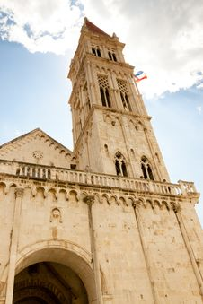 Free Catherdal Of St. Lawrence In Trogir Royalty Free Stock Photography - 25194647