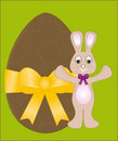 Free Chocolate Easter Egg & Bunny Stock Photography - 2527872