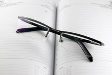 Free Planner With Glasses On The To Royalty Free Stock Photography - 2520297