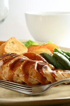 Free Chicken Breast Stock Photography - 2520532