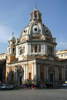 Free Church In  Rome Royalty Free Stock Image - 2520826