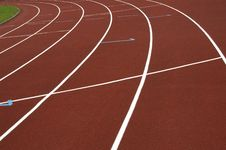 Free Cinder Track Stock Photography - 2521352