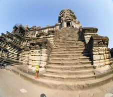 Free Angkor Wat Steps Stock Photos - 2523573
