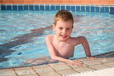 Free Boy At Pool Stock Photos - 2525643