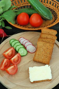 Free Diet Breakfast Stock Photography - 2525952
