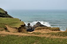 Free Coast Of Cornwall Stock Image - 2526601