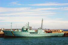 Free Fisheries Patrol Vessel Stock Photos - 2526763