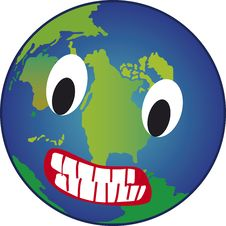 Free Angry Earth Royalty Free Stock Images - 2527239