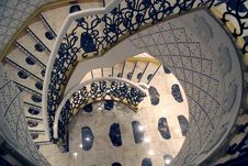 Free White Circular Staircase Royalty Free Stock Image - 2527906