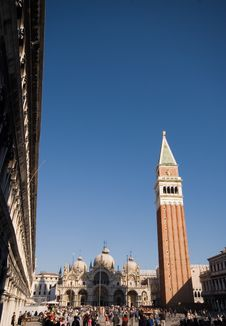 Free St Marks Square, Venice Royalty Free Stock Image - 2528956
