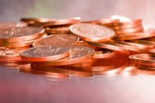 Free Close Up Of Coins Stock Photos - 2528963