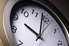 Free Close Up Of Clock Hands Royalty Free Stock Photos - 2529308