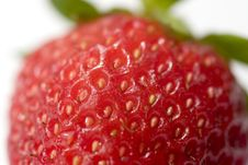 Ripe Juicy Strawberry Stock Photo