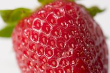 Ripe Juicy Strawberry