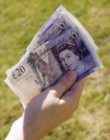 Free Handful Of Money Stock Image - 2529461