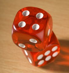 Free Red Dice Stock Images - 2529674