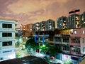 Free Night View Of Bangkok, Thailand. Royalty Free Stock Photo - 25207305