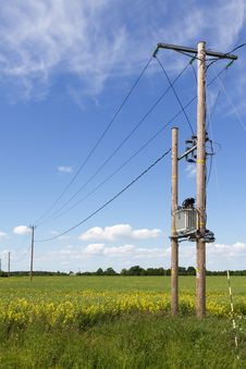 Free Electricity Pylons Stock Photos - 25201873