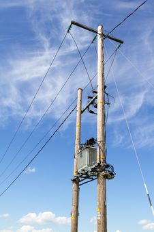 Free Electricity Pylon Stock Image - 25201911