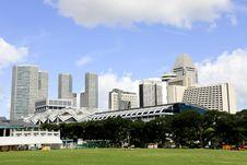 Free Singapore City Skyline Stock Photo - 25208360