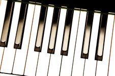 Free Piano Keys Royalty Free Stock Images - 25213569