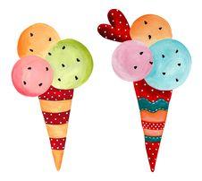 Free Ice-cream Stock Image - 25218771