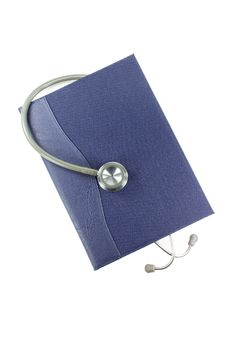Free Book And Stethoscope Royalty Free Stock Photos - 25219898