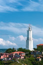 Free Lighthouse In City Royalty Free Stock Photos - 25221678