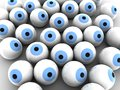 Free Blue Eye Balls Royalty Free Stock Photos - 25225138