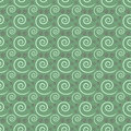 Free Seamless Repeating Green And White Swirl Pattern Royalty Free Stock Photography - 25226567