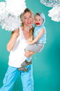 Free Mom Holds Her Son In Her Arms Royalty Free Stock Photo - 25227345